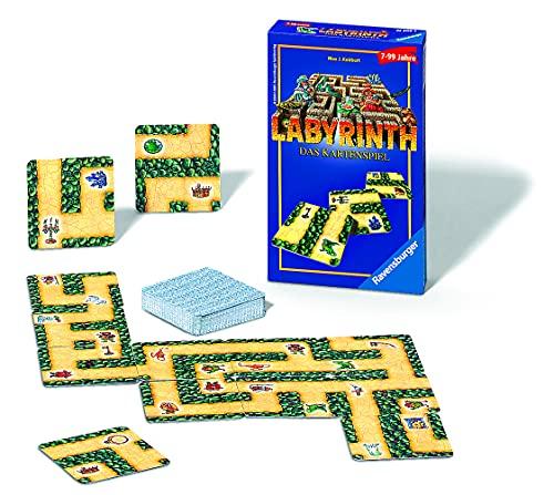 Ravensburger 23206 2 Mitbringspiele 23206 - Labyrinth - Das Kartenspiel