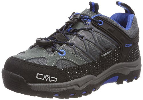 CMP Unisex-Kinder Rigel Trekking-& Wanderhalbschuhe, Grau (Grey-Zaffiro), 34 EU