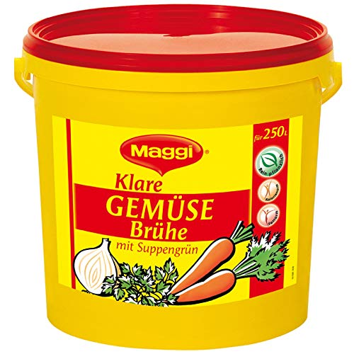Maggi Klare Gemüsebrühe, vegan, 1er Pack (1 x 5kg Eimer)