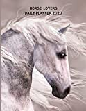Daily Planner 2020: Horse Lover Gift Idea For Men & Women | Horse Breeder, Owner, Farmer, Rodeo, Equestrian and Animal Lover Present | Large Hourly Full Page A Day Diary Calendar | 2020 Daily Planner