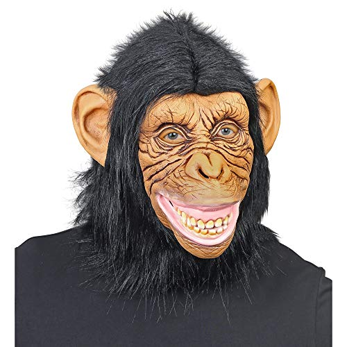 WIDMANN Mscara de ltex de Mono Divertido