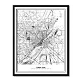 Susie Arts 11X14 Unframed Toledo Ohio Metropolitan City