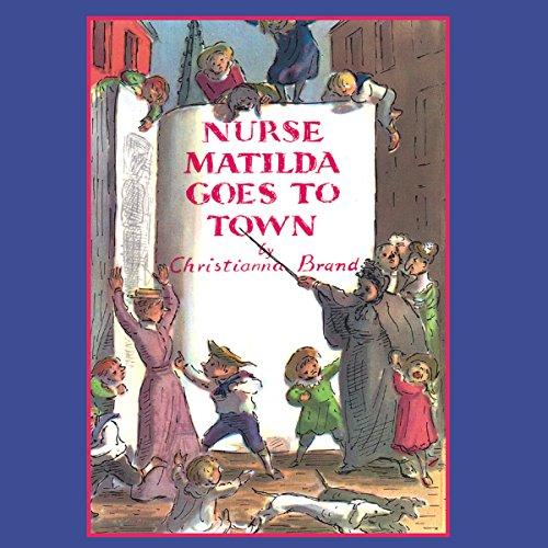 Nurse Matilda Goes To Town audiobook cover art