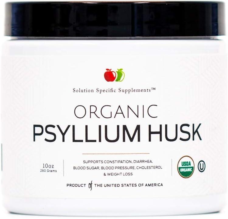 depot Special Campaign Organic Psyllium Husk Powder Fiber 280 - Supplement Bulk 10oz