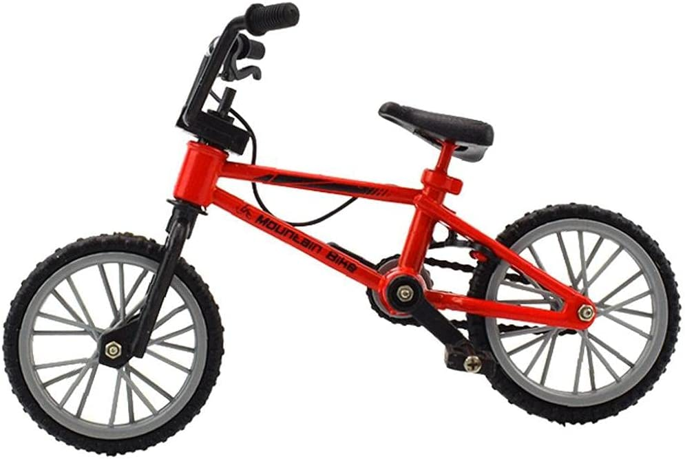 Onsinic 1 Pc Finger Bike Toys Alloy Gorgeous Mode Simulation Bicycle Kids Max 77% OFF