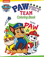 Pawfect Team: Paw Patrol Coloring Book for Kids