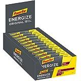 PowerBar Energize Original Berry 25x55g - Barre Énergétique à Haute Teneur en Carbone + C2MAX Magnésium et Sodium