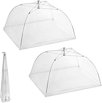 BestMall Food Cover Net Tents, White