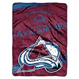 NHL Colorado Avalanche 'Stamp' Raschel Throw Blanket, 60' x 80'