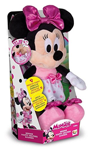 Minnie Mouse 182431MI4 Happy Helpers Sound Plüsch