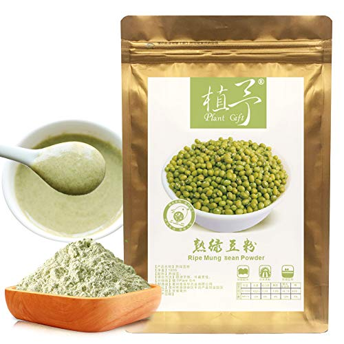 Plant Gift Mung Beans Powder, 100% Pure Ripe Green Bean Powder, Mung Bean Flour, Meal Replacement, Mung Bean Starch 100g/3.52oz