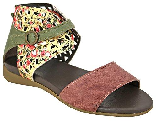 Think! Damen Sandale - Sandaletten Jaeh 82550-44 wildrose, EU 38