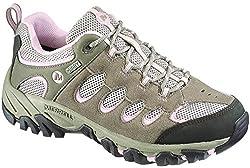 Merrell Women's Ridgepass Waterproof Trekking & Hiking Shoes, Green (Brindle / Pale Lilac), 37 EU