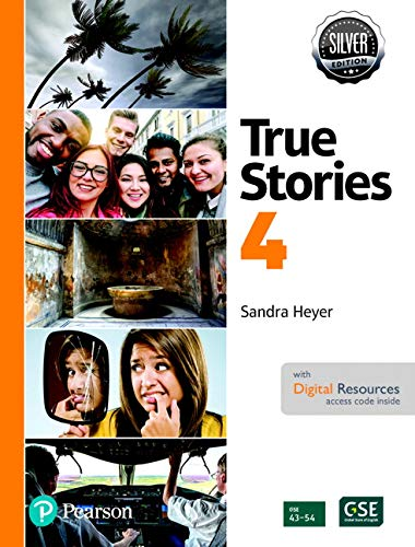 Even More True Stories Student Book with Essential Online Resources Level 4, Silver Edition