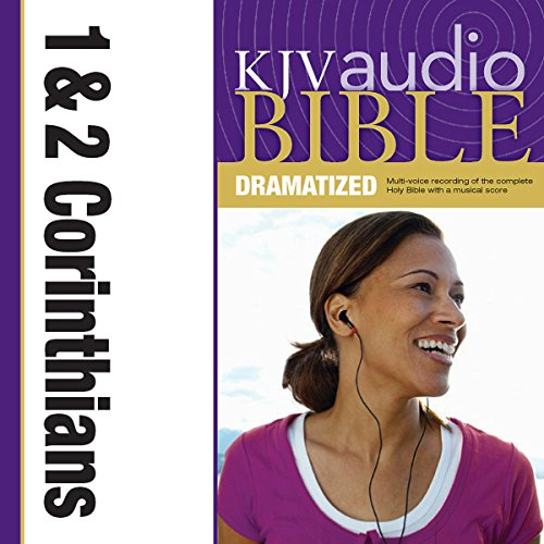 Dramatized Audio Bible - King James Version, KJV: (35) 1 and 2 Corinthians audiobook cover art