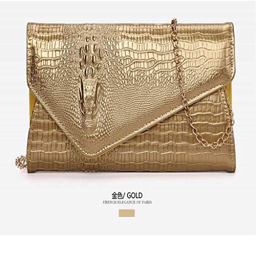 SCDSNB Echte italienische Wildleder große Umschlag geformte Clutch Handtasche Handtasche Prom Clutch (Farbe : C)