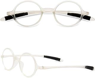 4762435c9e VEVESMUNDO Gafas de Lectura Mujer Hombre Vintage Redondo Flexibles Pequeñas  Vista Presbicia 1.0 1.25 1.5 1.75