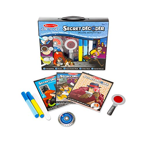 Melissa & Doug On The GO Secret Decoder Deluxe Activity Set Toy by Melissa & Doug