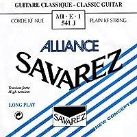 SAVAREZ ALLIANCE ハイテンション MI・E・1 541J クラシックギター弦(バラ) 1弦 E弦 1本 【国内正規品】