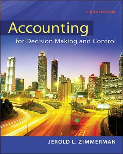Download Accounting for Decision Making and Control 0078025745