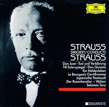 Richard Strauss Dirigiert Richard Strauss