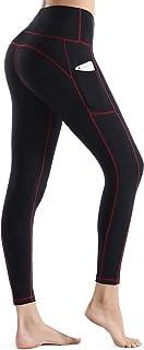 Nonwe Women's Yoga Leggings Stretch High Waist Tummy Control Workout Sports Running Pants