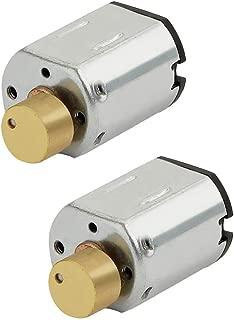 tatoko N20 DC Vibration Motor 3V 8000RPM Powerful Small Electric Motor Micro Vibrating Motor 2PCS