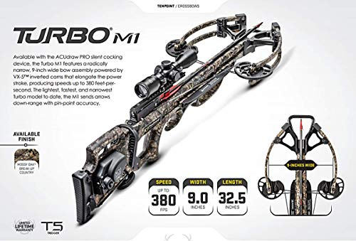 TenPoint Turbo M1, ACUdraw 50 SLED, Pro-View Scope