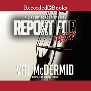 Report for Murder audiobook cover art