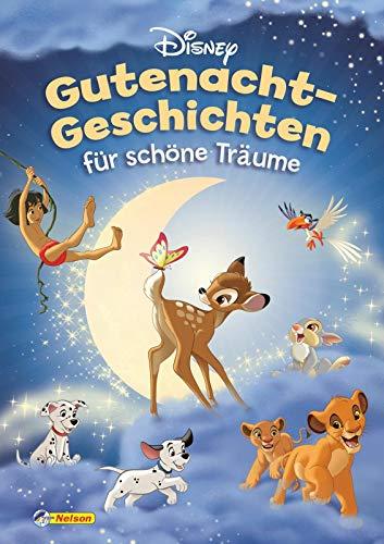 Disney Klassiker: Gutenacht-Geschichten für schöne Träume: Geschichten zum Vorlesen für Kinder ab 3 Jahren