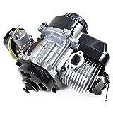 ZXTDR 47cc 49cc 2 stroke Engine Motor for Mini Pocket Bike Scooter Dirt Bikes ATV Quad Motorized Bicycle