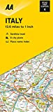 Road Map Italy (Road Map Europe)