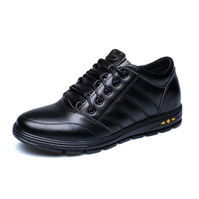 [eleitchtee] シークレットシューズ メンズ 6CM UP レザーシューズ 革 ビジネスシューズ おしゃれ 紳士靴 皮靴 カジュアルシューズ 通勤 008-jlfxy-201