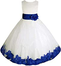 AMJ Dresses Inc Big/Little Girls Flower Girl Wedding Pageant Easter Birthday Party Dress