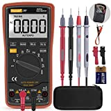Autoranging Multimeter Test for Temperature AC/DC Voltage, Current, Resistance, Continuity, Capacitance, Frequency,Diodes Transistors