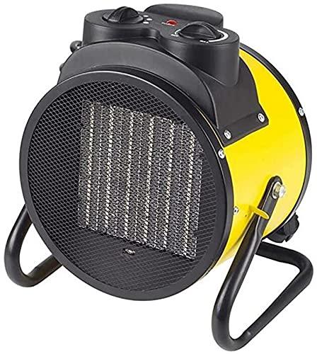 NaoSIn-Ni Mini Calentador de la Industria PTC Calefacción de cerámica Cosas de Ahorro de energía Switch de Giro 2000W-3000W / 220V Dormitorio de Oficina Radiador de bajo Ruido