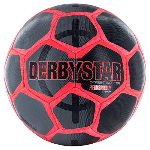 Derbystar Street Soccer Heimspiel Fußball Größe 5 (Rot)