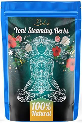 Yoni Vaginial Steaming Herbs Promotes Vaginal Health – 100% Natural V Steam Detox Vee Cleanse Womens Health Feminine Products (4oz / 6 Steams)