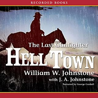 Hell Town audiobook cover art