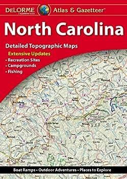 DeLorme Atlas & Gazetteer  North Carolina  North Carolina Atlas and Gazetteer