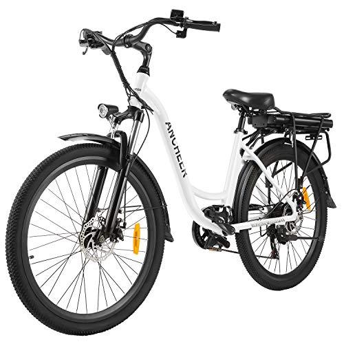 ANCHEER 26 Vélo électrique de Ville avec Batterie Amovible 1