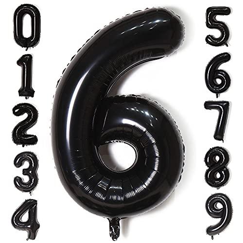 Globos Número 6, Gigante Numeros 0 1 2 3 4 5 6...