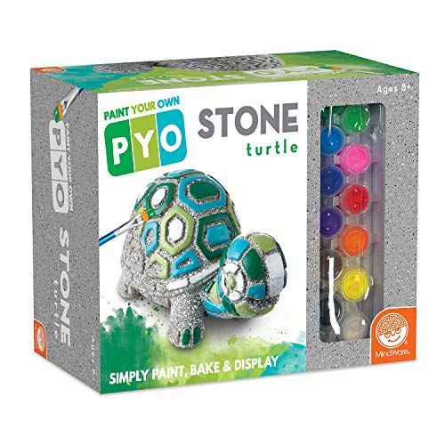 MindWare Paint Your Own Stepping Stone: Box Turtle