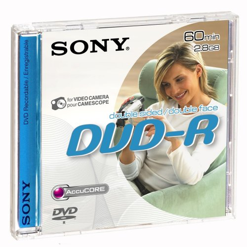 Sony DVD-R Double sided 60Mn 5er Pack