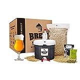 Brew Monkey Kit básico de elaboración de cerveza Tripel – Juego de elaboración de cerveza para preparar uno mismo – cerveza en la cocina – Hombres – Regalo para hombres