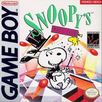 Snoopys Magic Show - Gameboy - PAL