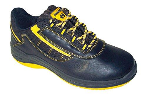 Panter M235092 - Zapato seguridad ozone oxigeno negro talla 44