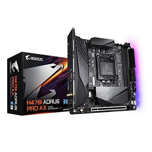 Placa Mãe H470I AORUS PRO AX Intel LGA 1200 11°/10° Geração DDR4 Mini-ITX GIGABYTE