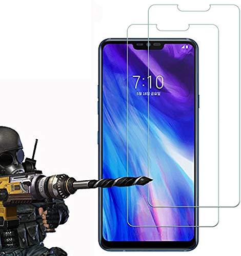 2 Pack - LG G7 / LG G7 ThinQ Panzerglas, FoneExpert® Gehärtetem Schutzfolie Glasfolie Hartglas Panzerfolie Displayschutzfolie für LG G7 / LG G7 ThinQ
