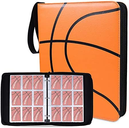 NeatoTek Double Sided 40 Pages 720 Pockets Basketball Card Binder for Basketball Trading Cards product image